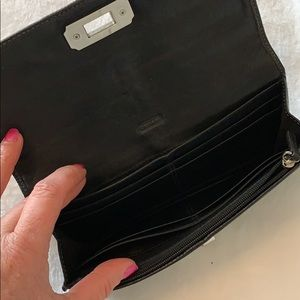 Coach Bags - COACH Black Wallet! Signature C's!!